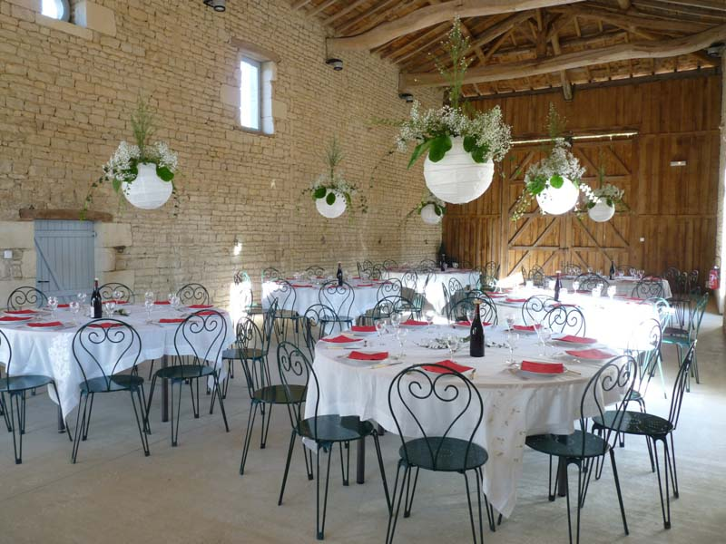 location salle mariage 17000