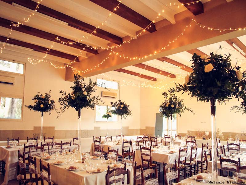 location salle mariage 30300
