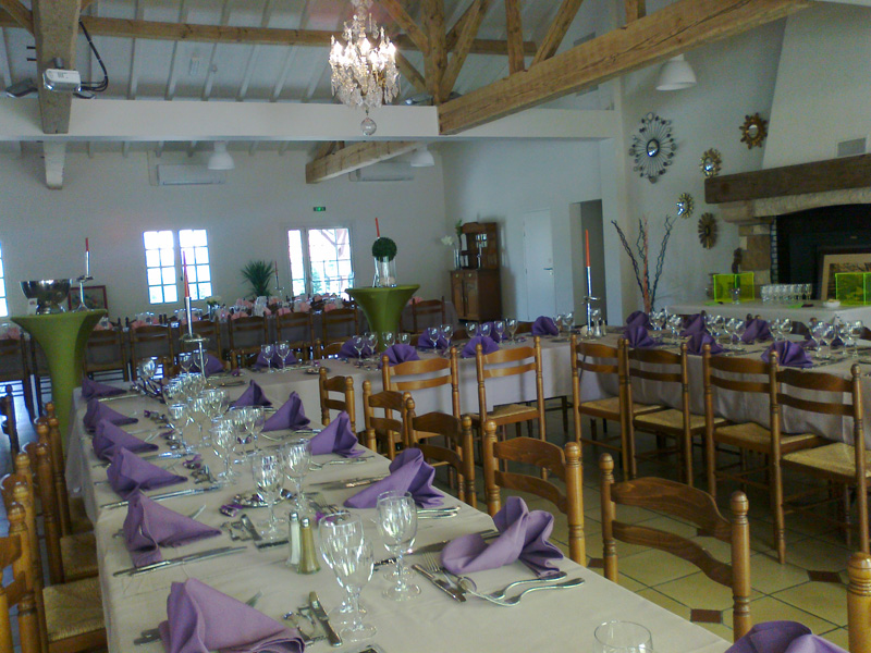 location salle mariage 40