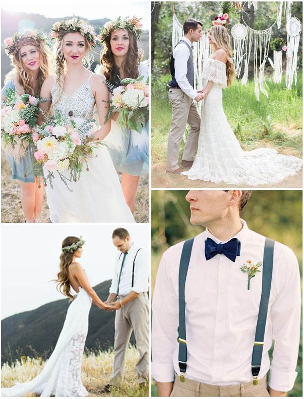 organisation mariage boheme chic
